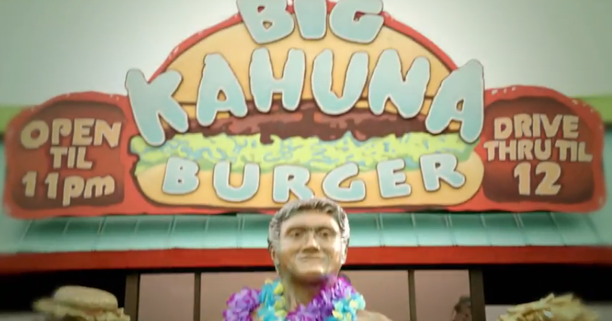 Big Kahuna Burger (That's that Hawaiian Burger Joint)