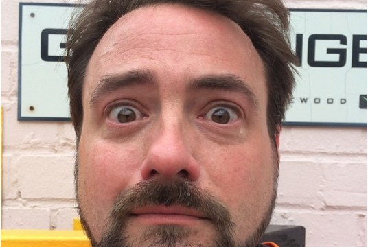 Kevin Smith crying tears of joy